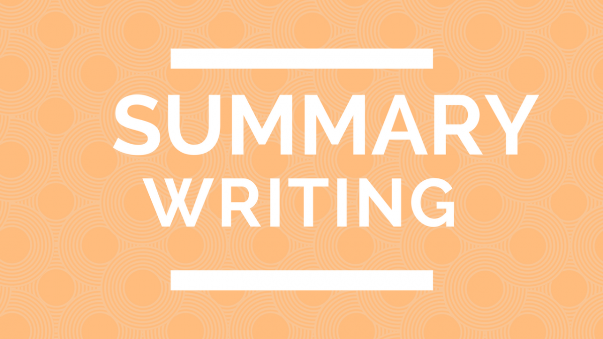 How to write a summary csec english made easy thecheapjerseys Image collections