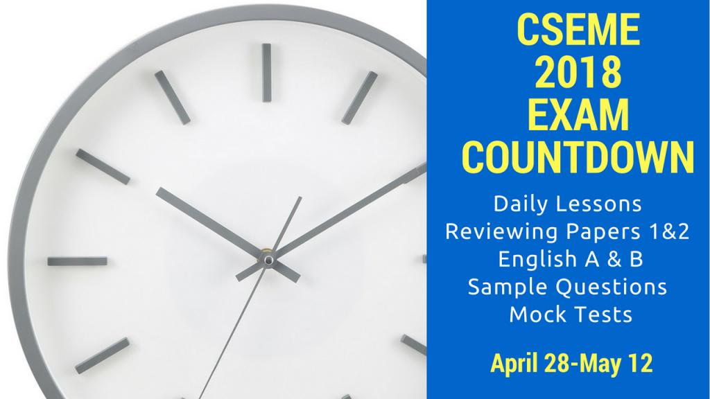 Csec english made easy csec english made easy 2018 exam countdown fandeluxe Gallery
