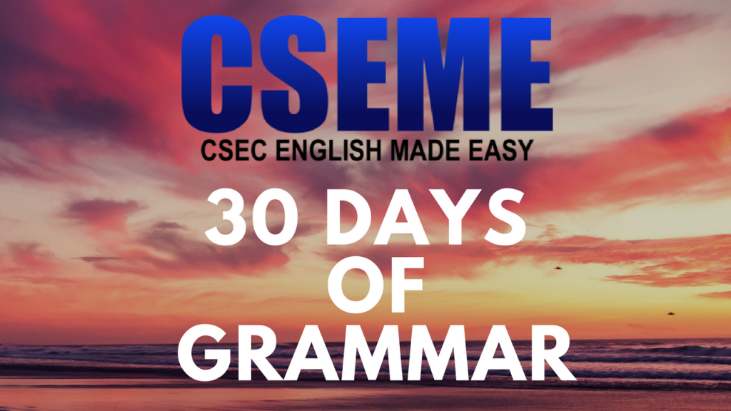 Csec english made easy subject verb agreement singular and plural subjects fandeluxe Images